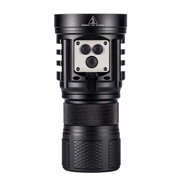 OUV US$201.89 Niwalker MF5SV1 Mini 15000 Lumen High Power Spotlight 18650 EDC Flashlight  IPX7 Waterproof Mini Torch For Outdoor Hunting