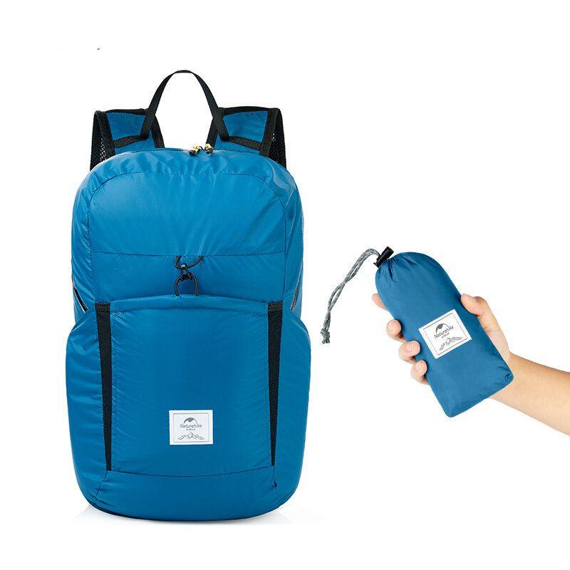 YKD US$15.82 Naturehike NH17A017-B 25L Folding Backpack Ultralight 2000+ Waterproof Outdoor Sports Travel Bag
