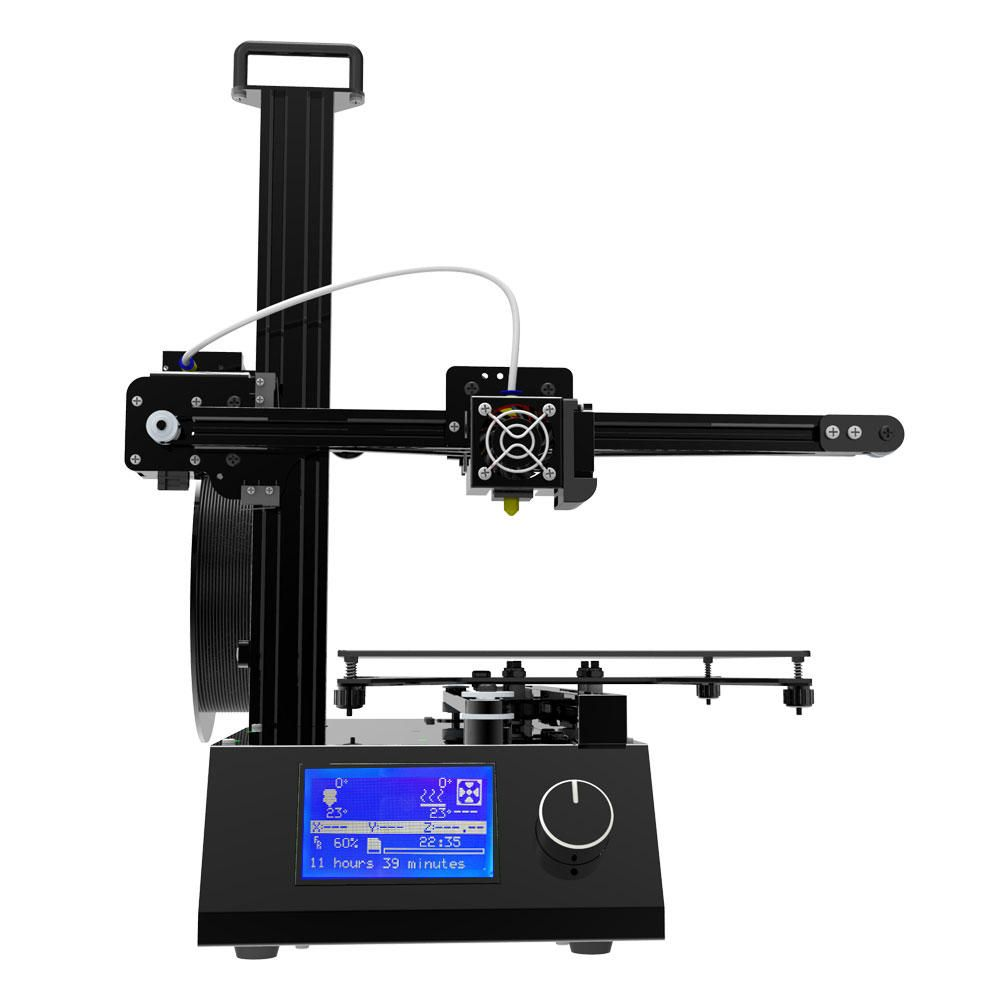 WSC US$258.14 Tronxy® X2 Aluminum 3D Printer 220*220*220mm Printing Size With Dual Cooling Fans/HD LCD Screen/Knob Button Design