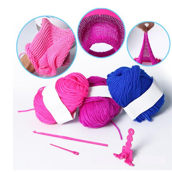 VDK US$40.71 JTStoys Knitting Machine 40 Needles Quick Knit Hat Scarf Big Size Weaving Sewing Kits DIY Craft Gift Toys