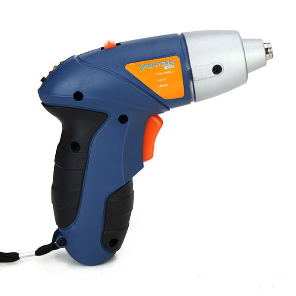 UOV US$26.24 4.8V Rechargeable Electric Screwdriver Cordless Drill Oscillating Tool Saw