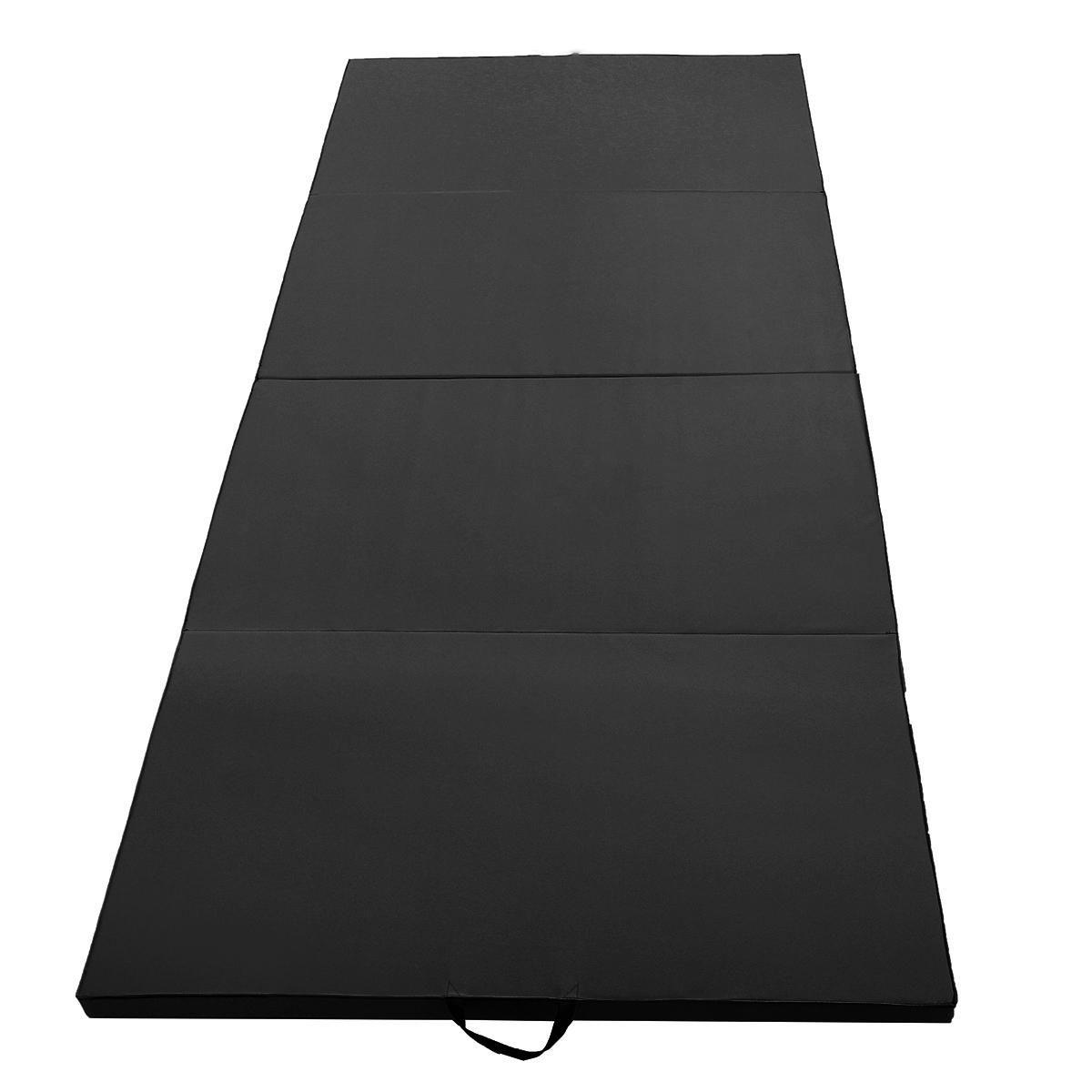 HUK US$208.59 118x47.2x1.97inch Gymnastics Mat Home Gym Folding Panel Sports Yoga Exercise Tumbling Fitness Pad