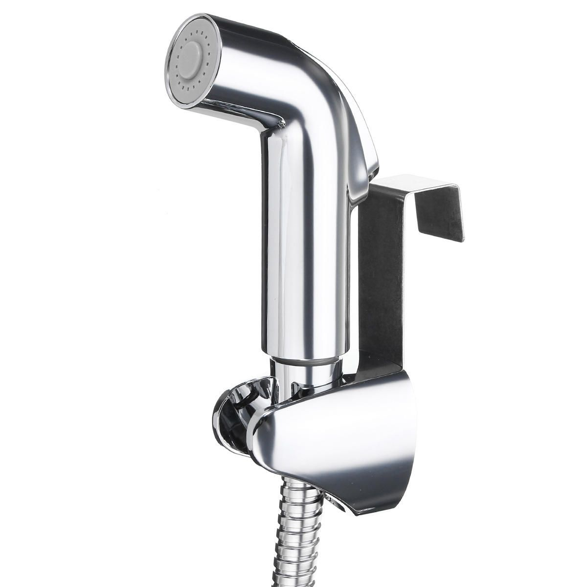 DJK US$16.39 Toilet Cleaning Spray Nozzle With A Hose And Toilet Flushing Head Socket Partner