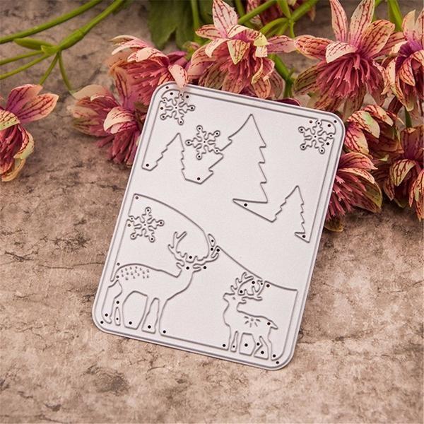 TKI US$4.99 DIY Hollow Out Cutting Die Stencil Paper Scrapbooking Album Craft Decoration