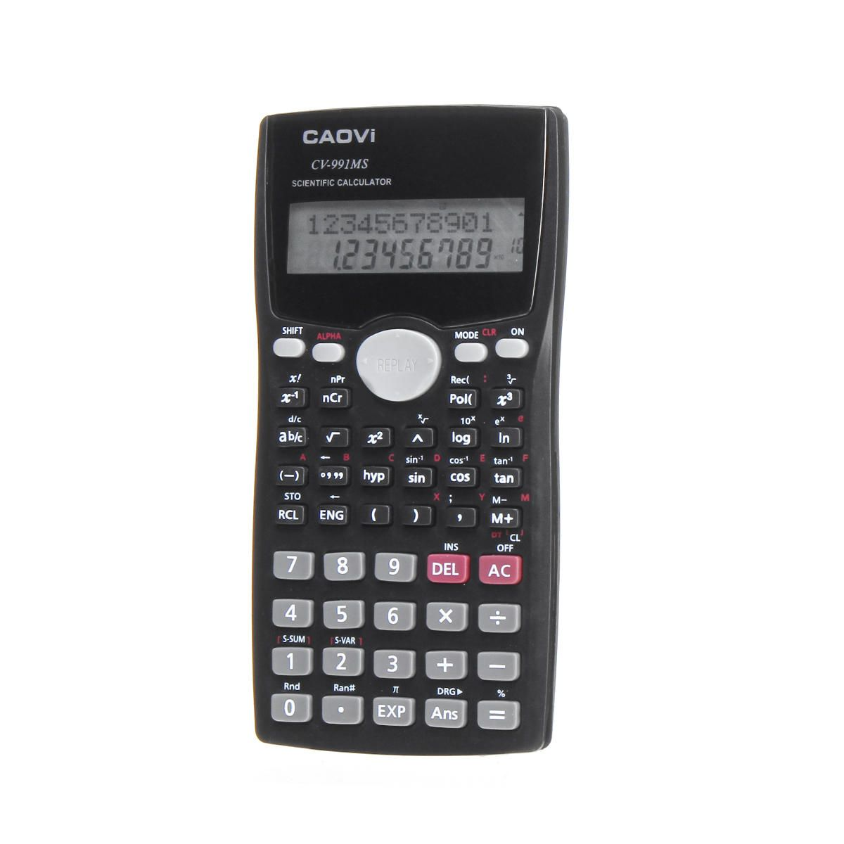 UOI US$6.04 991MS Scientific Calculator LCD Student's Scientific Calculation Battery Powered Digital Number Calculator Office School Supplie