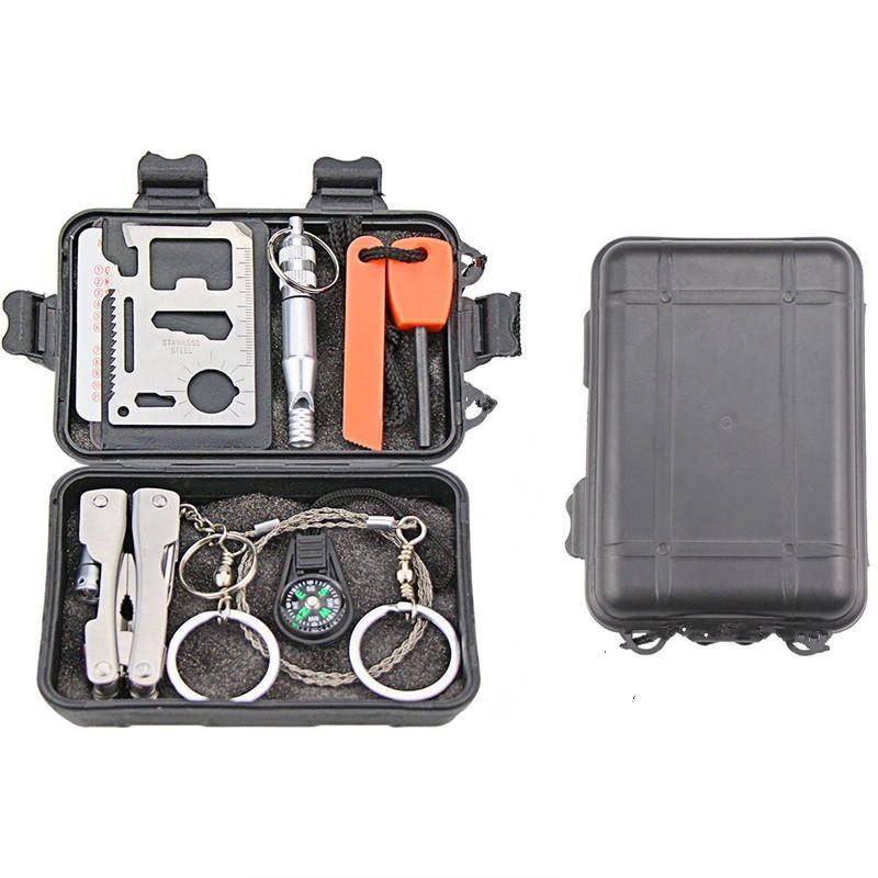VUT US$9.99 Outdoor Sports SOS Emergency Survival Equipment Kit Tactical Hunting Tool