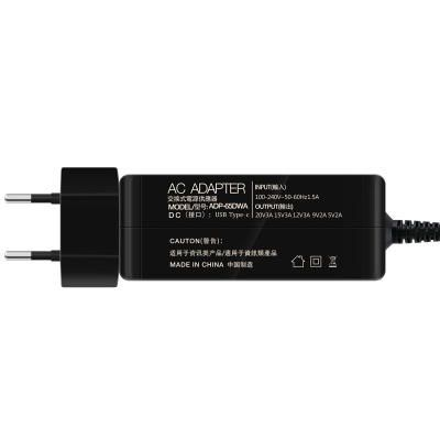 EHR US$27.99 WAWEIS 65W QC3.0 Fast Charge PD Charger Type-C Charger Macbook Laptop Power Adapter EU US Plus