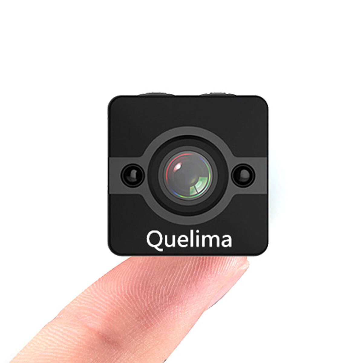 IKT US$16.99 Quelima SQ12 Mini 1080P FHD Car DVR Camera 155 Degree FOV Loop-cycle Recording Night Vision
