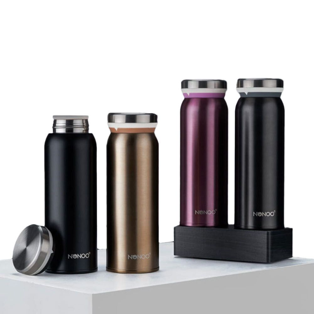 YNS US$29.94 NONOO Mr. Lightweight 450ML Thermos Bottle Vacuum Water Bottle Insulation Bottle From Xiaomi Youpin