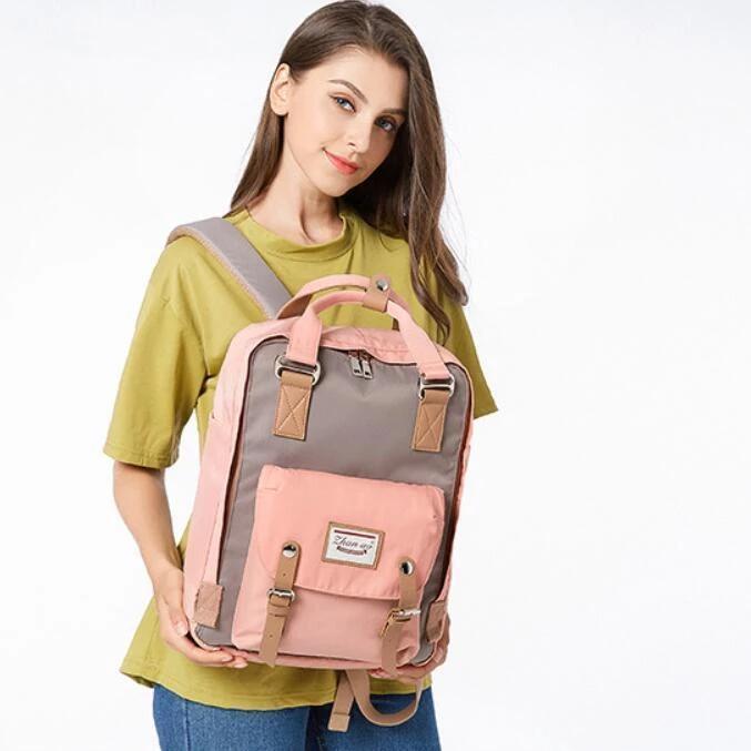 MEC US$46.44 Women Girl Waterproof Large Capacity Fashion Bag Backpack School Bag Casual Outdoor