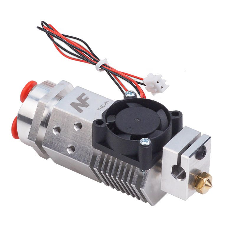 VGI US$52.96 12/24V 0.4mm 1.75mm NF THC-01 3-in-1-out Three Color Switching Remote Extruder Hotend Kit for 3D Printer Parts