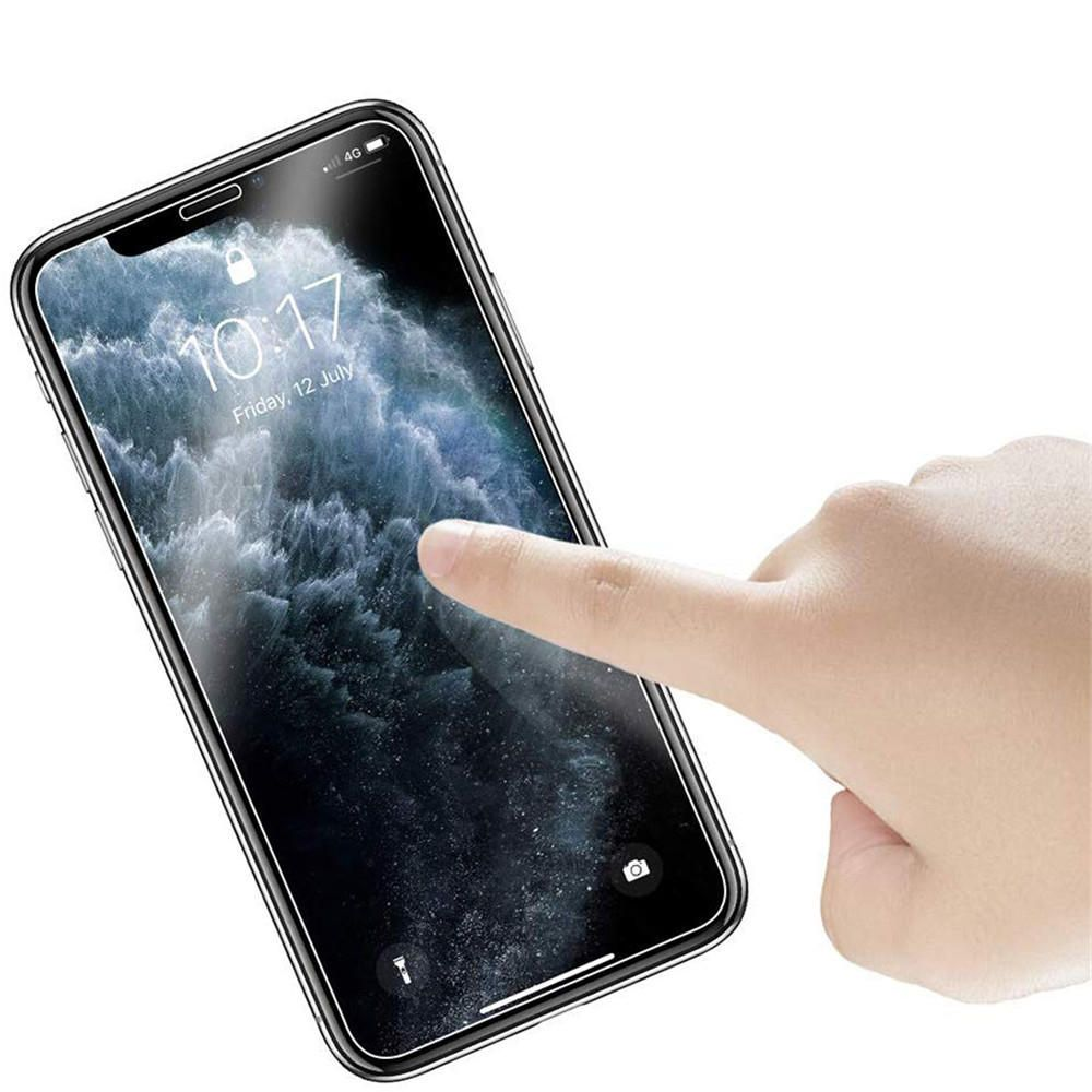 XBX US$4.14 Bakeey 9H Anti-explosion Anti-scratch Tempered Glass Screen Protector for iPhone XR / iPhone 11 6.1 inch