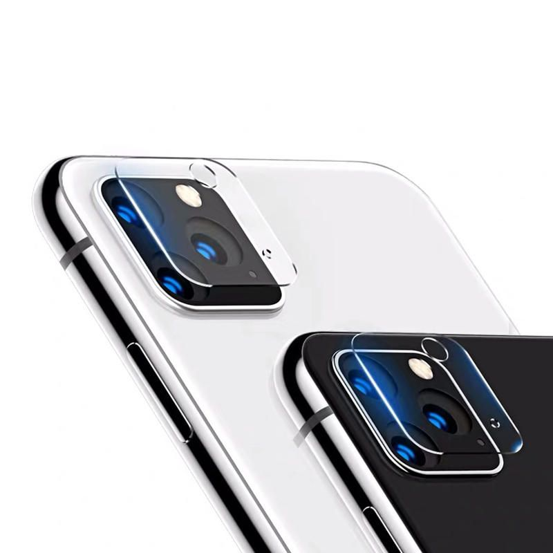 PEV US$3.39 Bakeey 2PCS Anti-scratch HD Clear Soft Tempered Glass Phone Camera Lens Protector for iPhone 11 Pro Max 6.5 inch