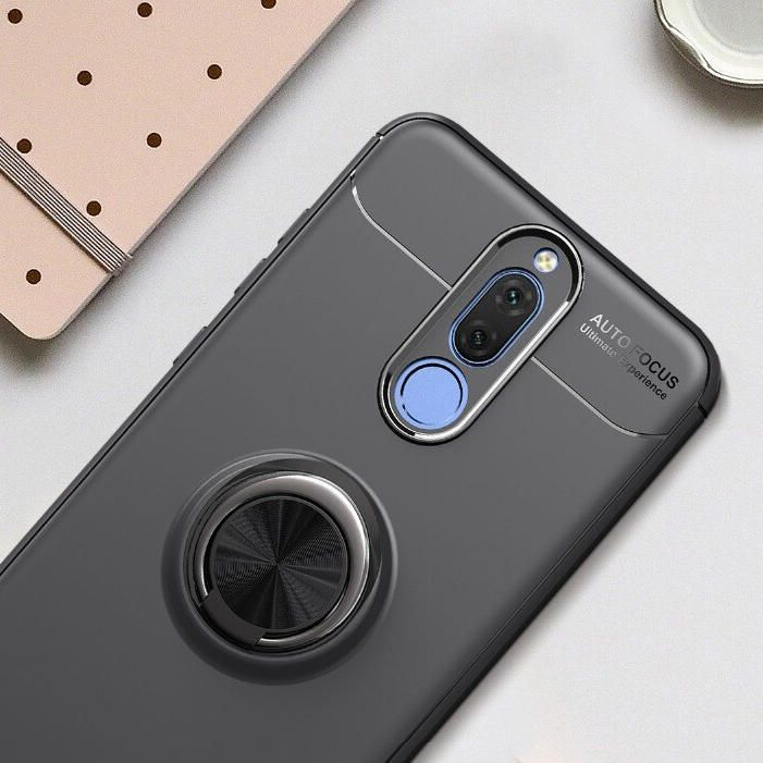 KRS US$6.75 For Xiaomi Redmi 8 Case Bakeey 360º Rotating Magnetic Ring Holder Soft TPU Shockproof Protective Case