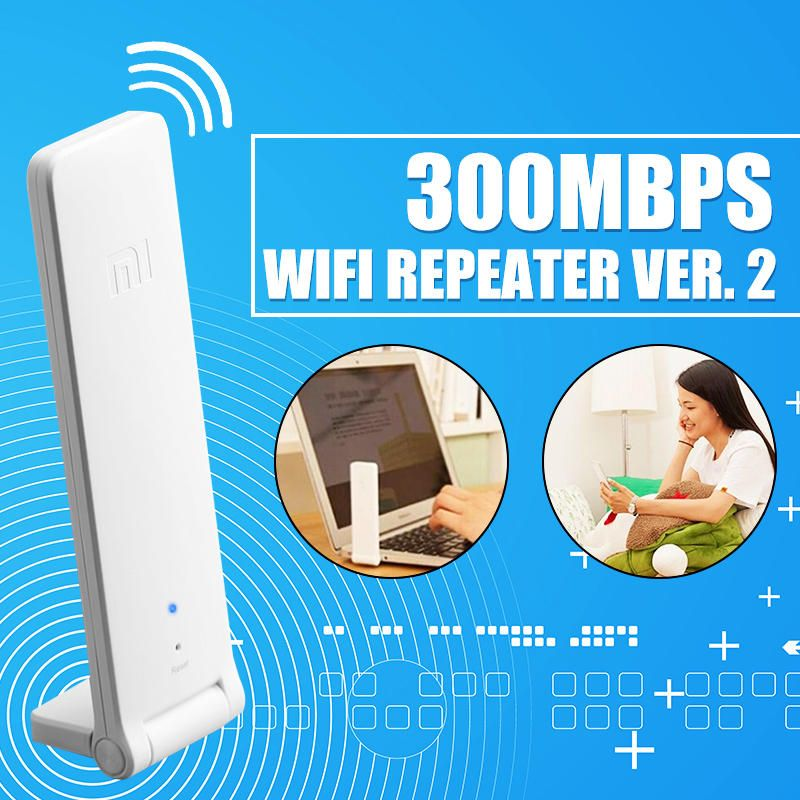 LKW US$13.99 [Global version] XiaoMi WiFi Ranger Xiaomi 2nd 300Mbps Wireless WiFi Repeater Network Wifi Router Extender Expander
