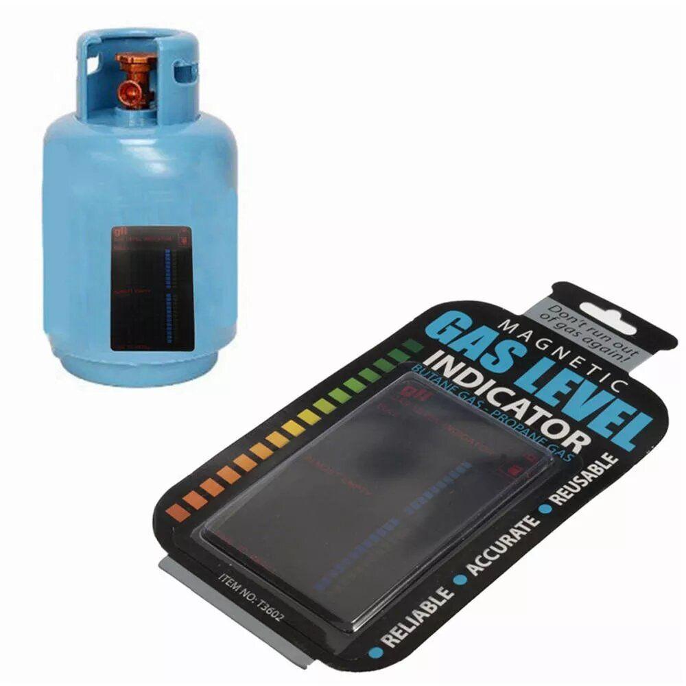 ZLT US$10.08 10Pcs Magnetic Gas Cylinder Tool Gas Tank Level Indicator Propane Butane LPG Fuel Gauge Caravan Bottle Temperature Measuring Stick Temperature Detector