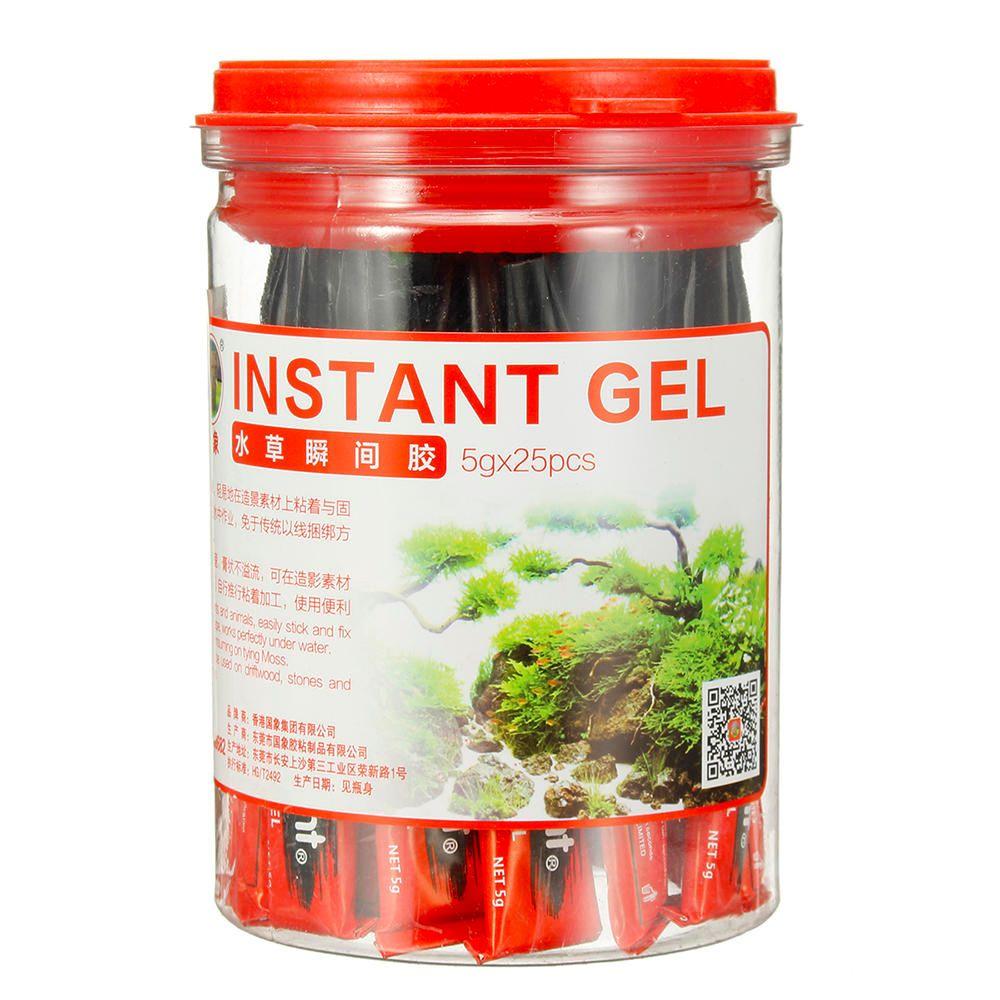 BEL US$18.01 Landscaping Instant Strong Glue Aquatic Plants Block & Stone Coral Rock Adhesive Glue for Aquarium Water Plant Glue Fish Tank