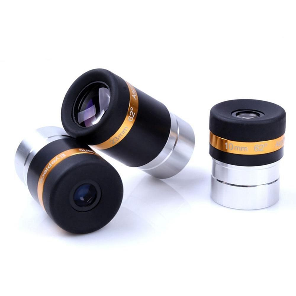 QMK US$11.00 Aspheric Telescope Eyepiece Wide Angle 62 Degree Lens 4mm Accessories For Astronomy Telescope Gadgets