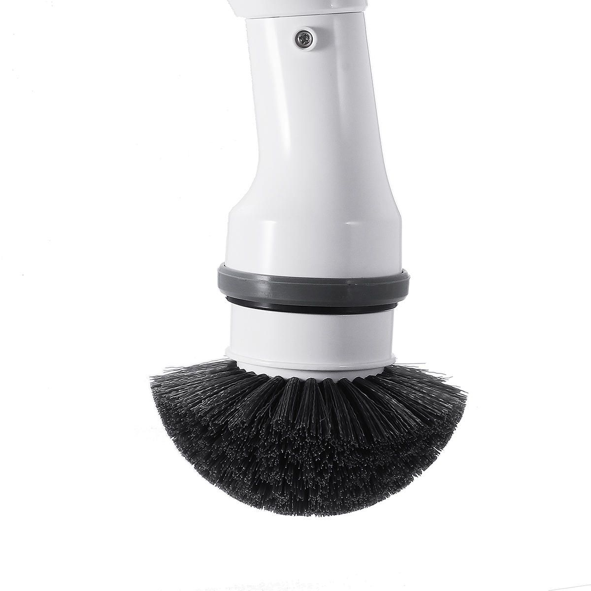 XZV US$32.99 MECO Electric Spin Scrubber Cleaner Power Cordless Tub and Tile Scrubber Handheld Cleaning Supplies with 3 Replaceable Brush Heads for Bathroom Floor Kitchen Car Sink Wall Window