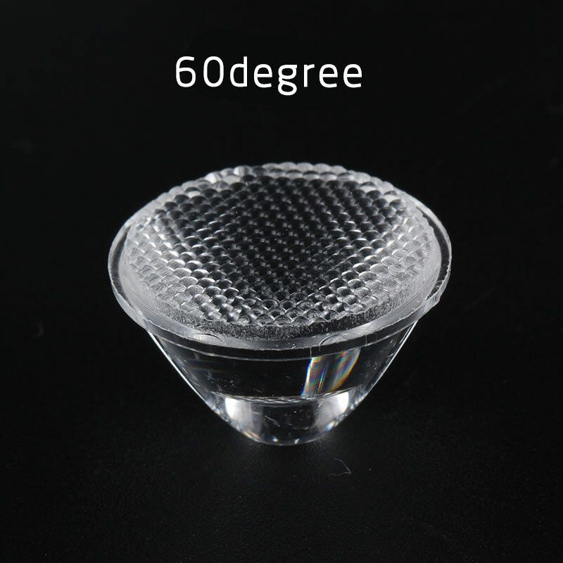 IQQ US$0.81 1pcs 10/25/45/60 Degree LED Lens Flashlight Diy Lighting Accessories