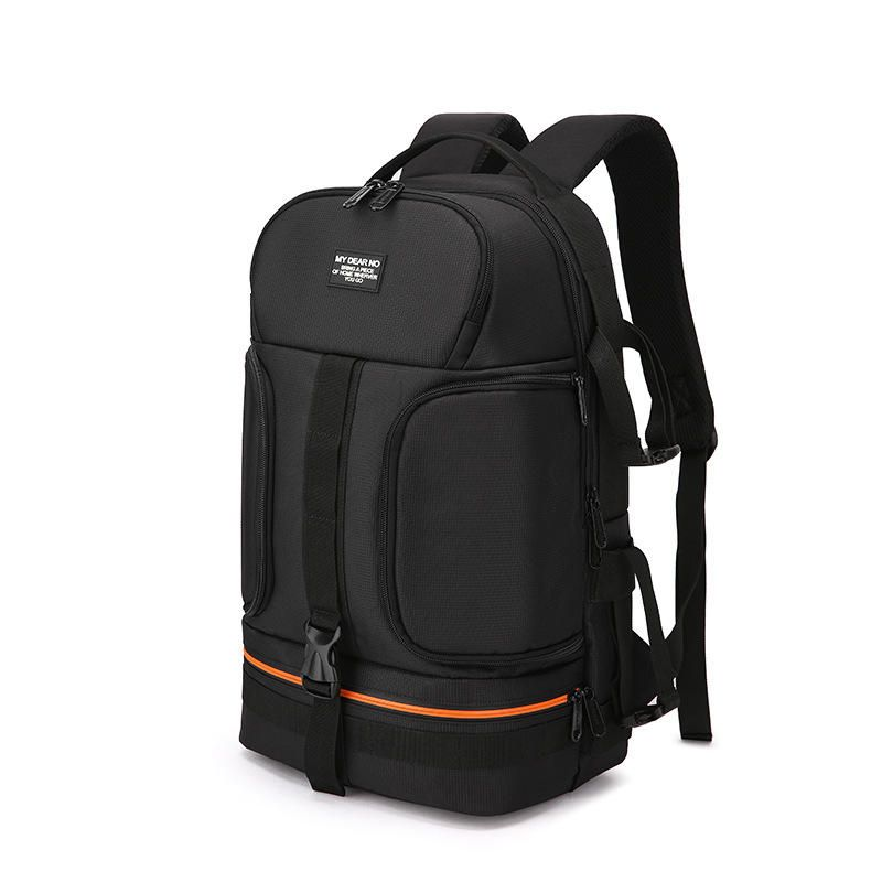 YHK US$36.34 My Dear No Side Open Travel Carry Camera Bag Backpack for Canon for Nikon DSLR Camera Tripod Lens Flash Tablet Laptop Pad