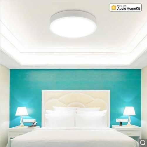 YSG US$104.01 Yeelight YLXD41YL 320mm Smart LED Ceiling Light Upgrade Version Work With Homekit (Xiaomi Ecosystem Product)