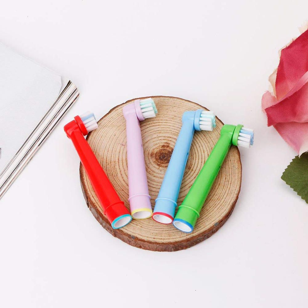 OGA US$7.05 EB-10A 4PCS Universial Replacement Kids Children Tooth Brush Heads For Oral Care Electric Toothbrush Heads