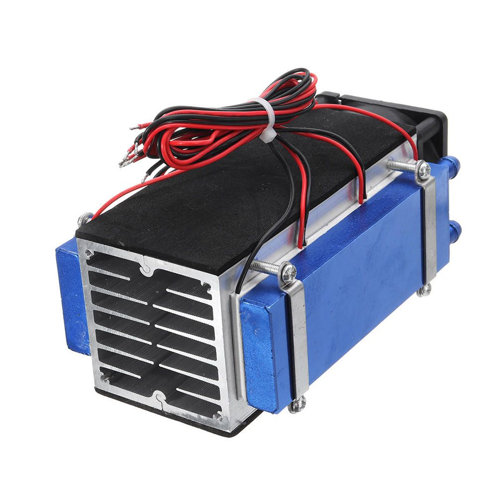 LZB US$57.04 DIY 12V 420W 6-Chip Semiconductor Refrigeration Cooling Device Thermoelectric Cooler Air Conditioning High Cooling Efficiency