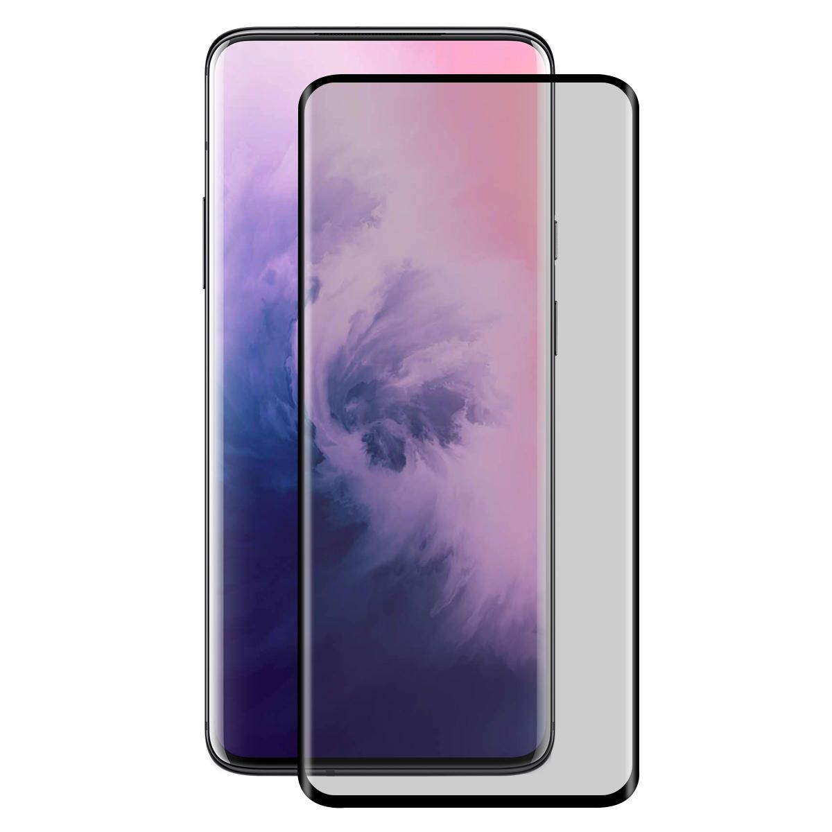 FHL US$10.59 ENKAY 9H 3D Anti-explosion Anti-peeping Hot Blending Full Coverage Tempered Glass Screen Protector for OnePlus 7 Pro / OnePlus 7T Pro
