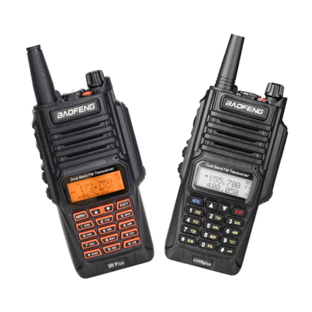 EGI US$41.19 BAOFENG UV-9R Pro 15W 8800 mAh FM Transceiver Waterproof Dual Band Handheld Radio Walkie Talkie
