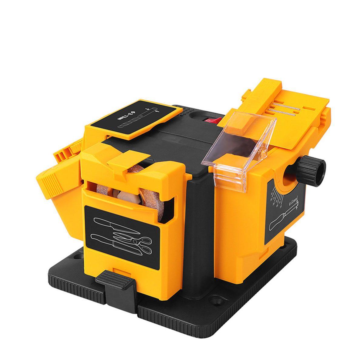 FFL US$47.09 220V 6700RPM Multi-function Electric Sharpening Tool Grinding Rig Twist Drill Grinding Machine Household Scissors Kitchen Sharpener