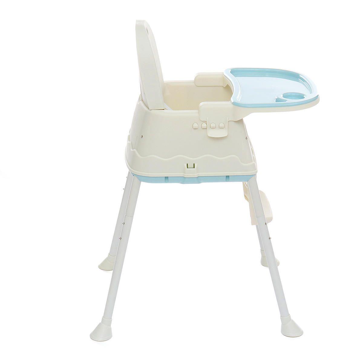 ALX US$71.38 Folding Baby High Chair Recline Highchair Height Adjustable Feeding Seat Wheels