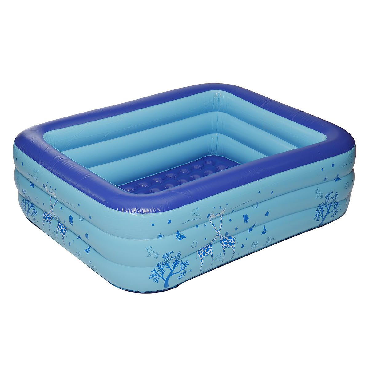 XYO US$33.99~87.99 1.2M/1.3M/1.5M/1.8M/2.1M Inflatable Swimming Pool Outdoor Children Bathtub Summer Fun Water Pool