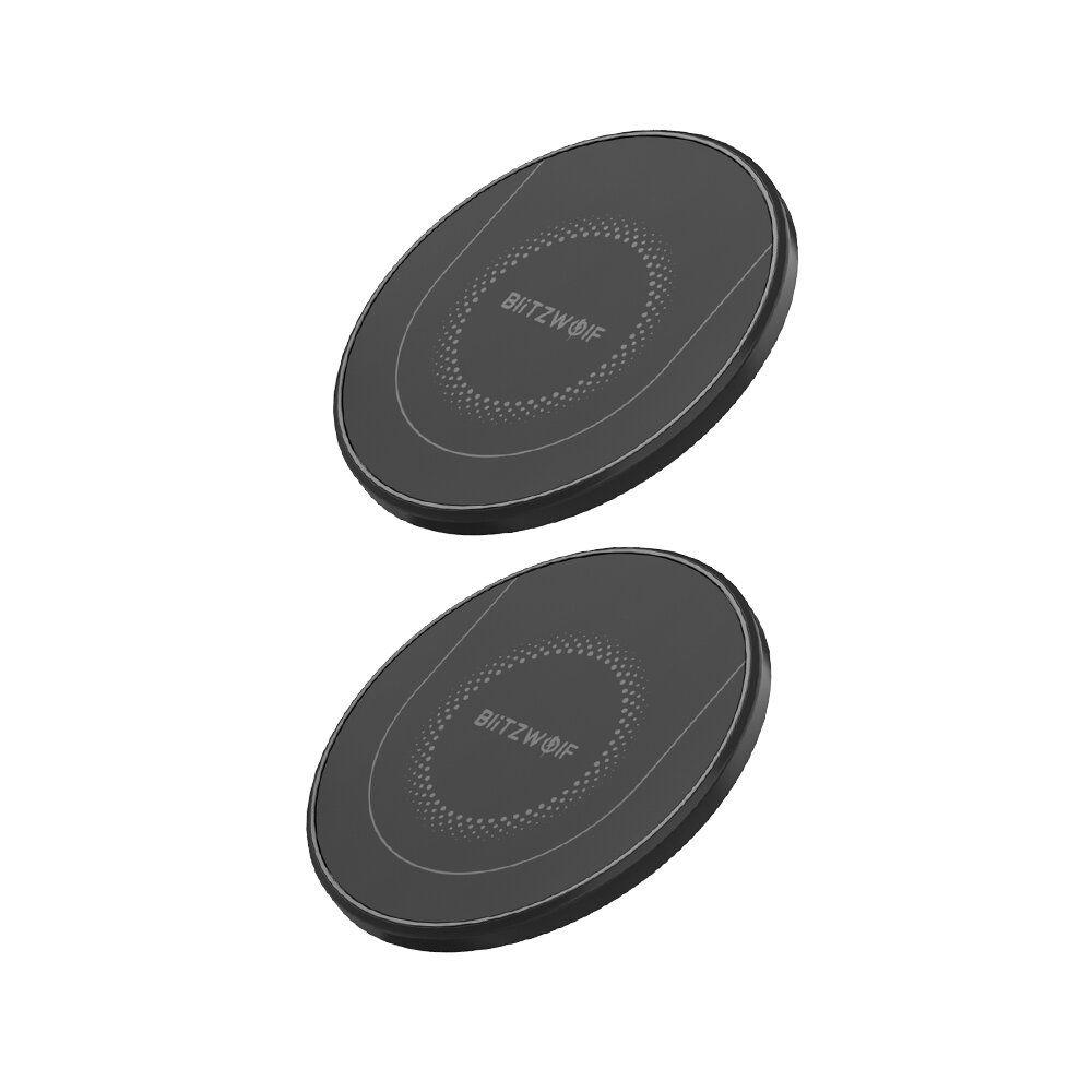 DBA US$10.99 BlitzWolf® BW-FWC7 Qi Fast Wireless Charger 15W 10W 7.5W 5W for iPhone 11 Pro XS MAX XR S9 Note 9