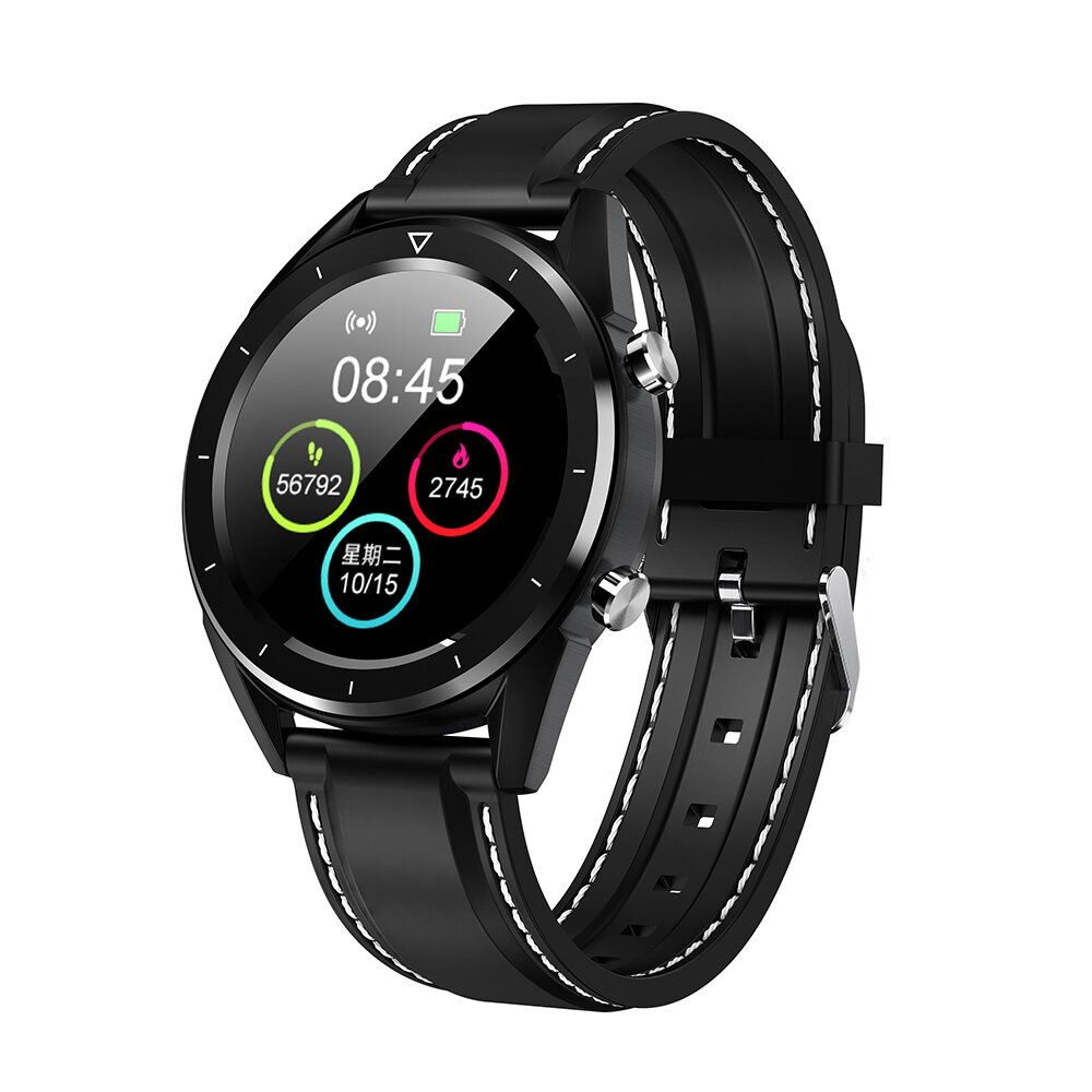 MCM US$33.99 [Free Gift]DT NO.1 DT28 1.54 Big Display Wristband ECG Monitor HR Blood Pressure Mobile Payment Smart Watch