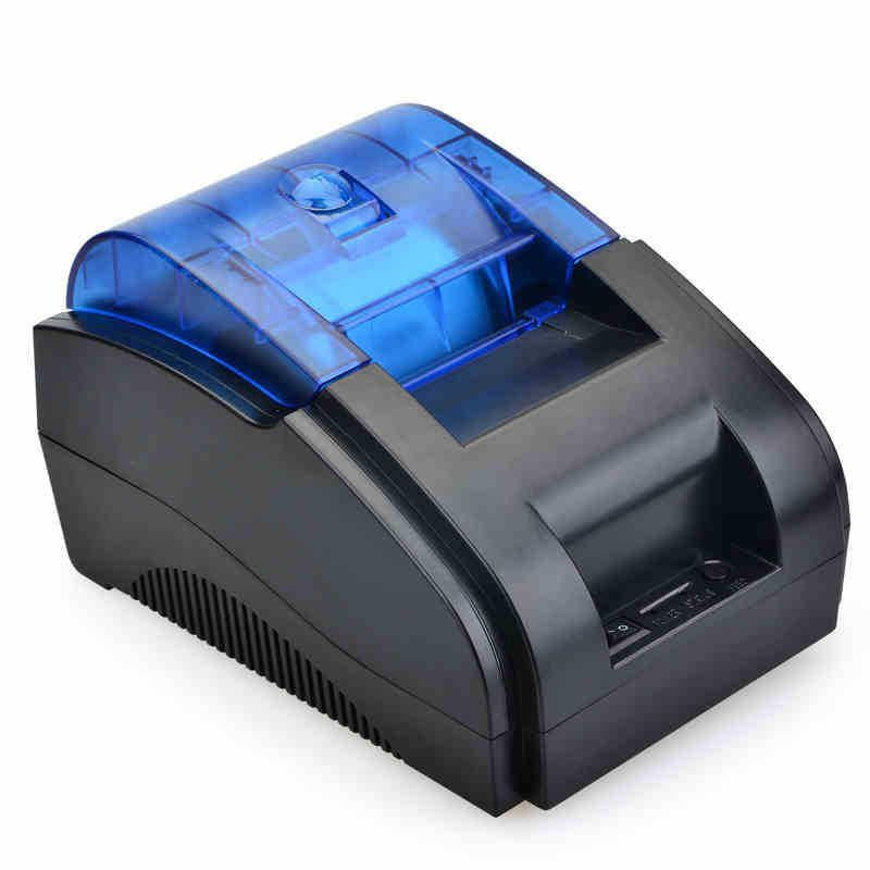 ZQC US$30.69 CB58PC 58mm Portable USB bluetooth Tickets Thermal Printer Barcode Printing Support Wins 7/8/10/linux