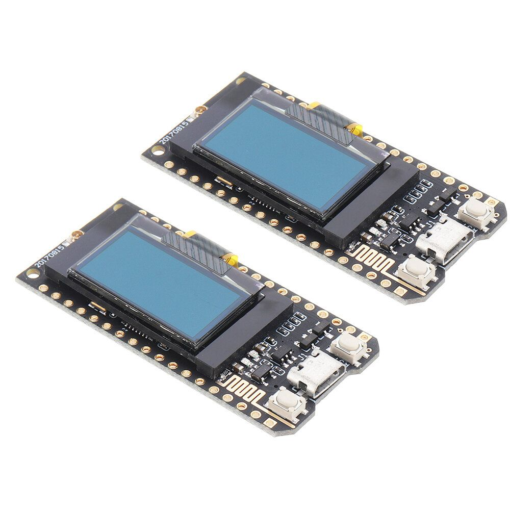 FMP US$24.49 2Pcs TTGO 433Mhz LORA SX1278 ESP32 0.96 OLED Display Module LILYGO for Arduino - products that work with official Arduino boards