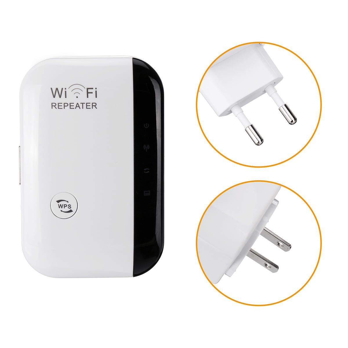HPE US$10.99 300Mbps Wireless-N Wifi Repeater 2.4G AP Router Signal Booster Extender Amplifier WiFi Extender Repeater US/EU/UK/AU Plug