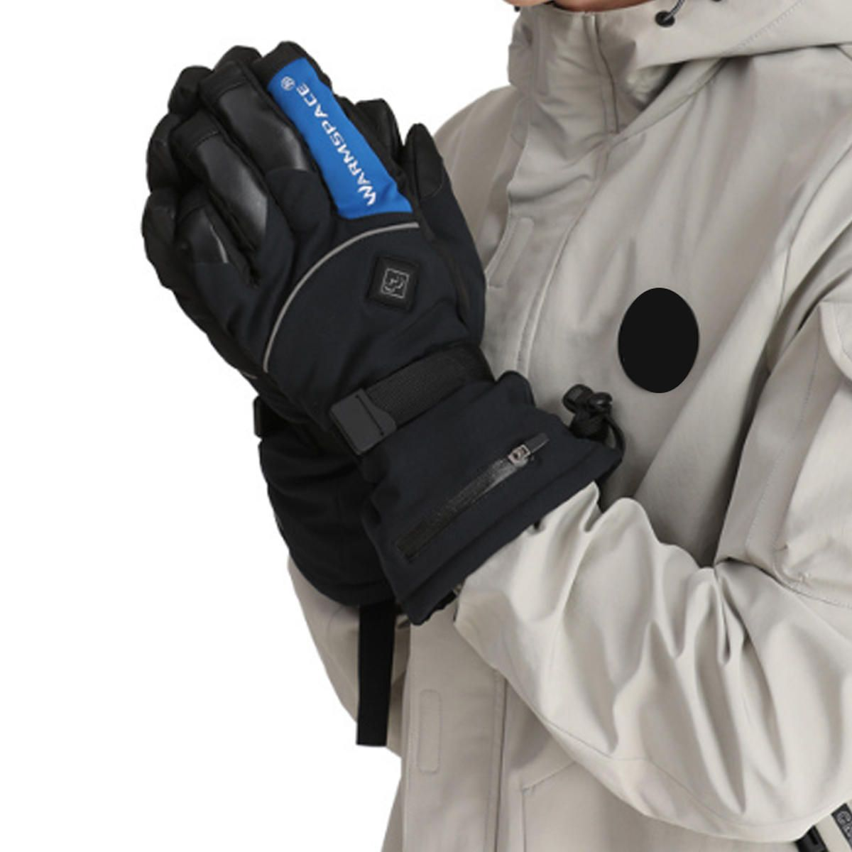 ZXE US$76.74 Motorcycle Gloves Electric Heated Winter Warm Thermal Ski Snowboard