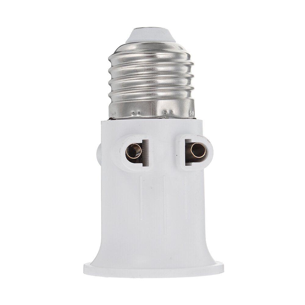 VFC US$1.69 AC100-240V 4A E27 ABS EU Plug Connector Accessories Bulb Adapter Lamp Holder Base Screw Light Socket