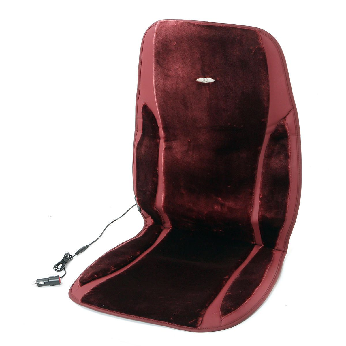 XGY US$37.99 Universal Heated Winter Car Seat Cover Cushion Protector Heater Warmer Third Gear Heating 5 Mode Massage Set Leather Velour Fabric 12V