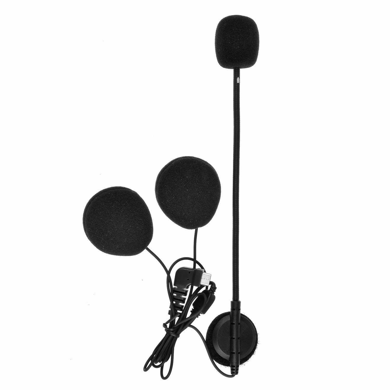 TKN US$7.05 BT-S2 Intercom Headset with Microphone BT-S1 BT-S3 Type C Version For Motorcycle Helmet Interphone