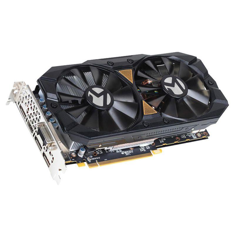 WNT US$189.31 MAXSUN Redon RX 580 2304Units 8GB GDDR5 256Bit 8000MHz 1257 - 1340MHz Gaming Video Graphics Card