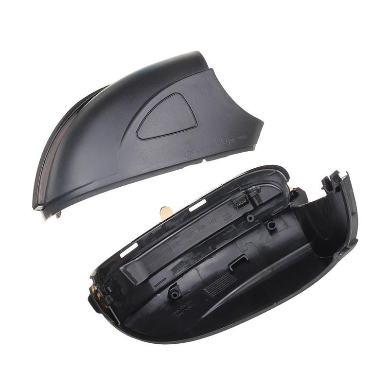 GPF US$41.59 2Pcs Car Water Flowing Turn Signal Lights LED Lamp Side Wing Rearview Mirror for VW Golf 6 Touran