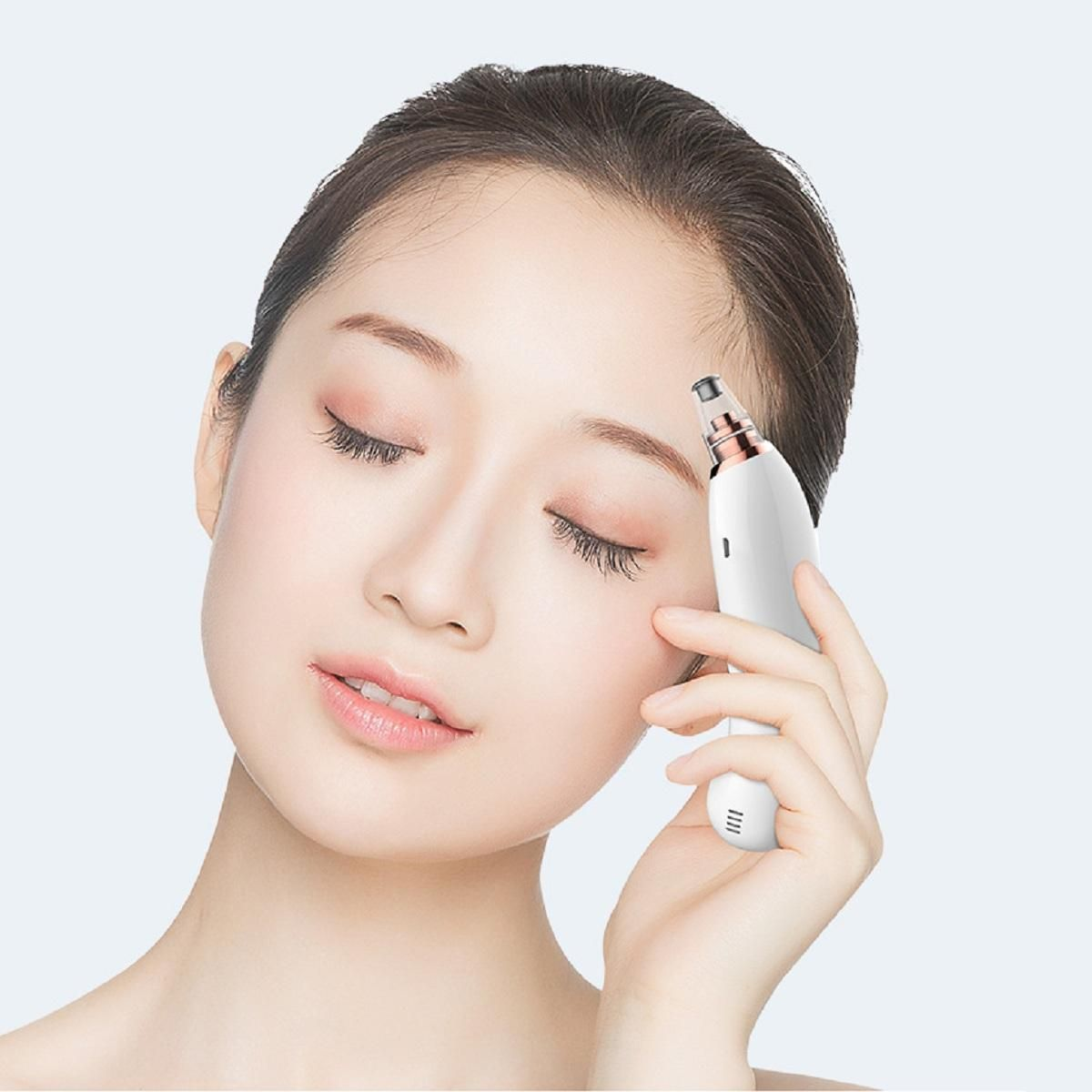 ZRB US$39.11 WIFI Visual Blackhead Instrument Electric Instrument Pore Cleaning Microscopic Beauty Home Phone General Purpose Electric Blackhead Suction