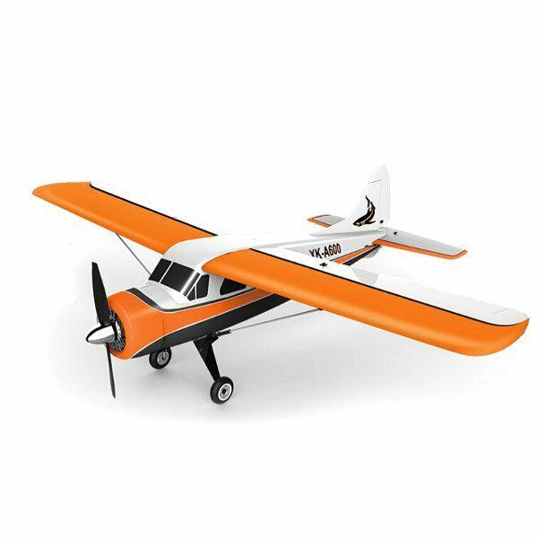 OXV US$96.32 XK DH C-2 DH C2 A600 5CH 3D6G System Brushless RC Airplane Compatible Futaba RTF