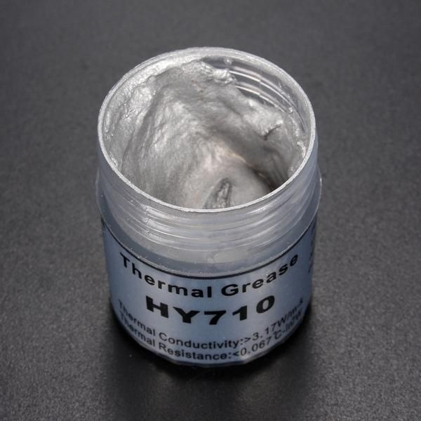 EYE US$3.43 10g Silver Thermal Paste Grease Compound Silicone For PC CPU Heat Sink