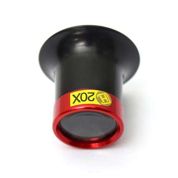 AHI US$5.46 20X Monocular Magnifying Glass Loupe Lens Magnifier Eyeglasses