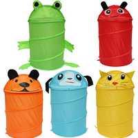 32x45cm Foldable Animal Design Laundry Bag Bathroom Dirty Clothes Casket