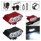 Bon prix 3 x T6 LED Headlight Front Bike Bicycle HeadLamp Head Light